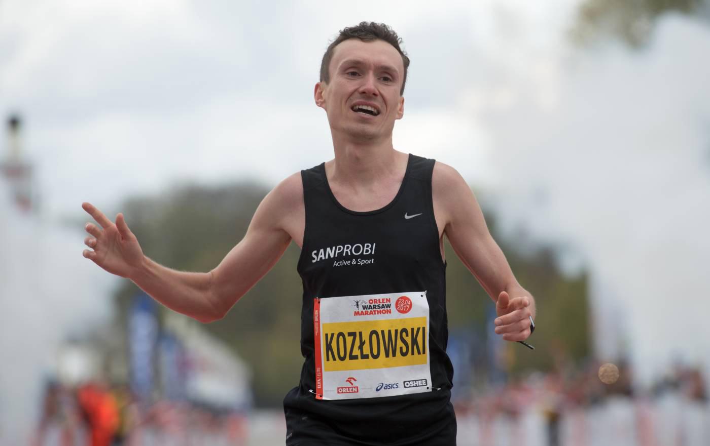 Artur Kozłowski obronił tytuł mistrza Polski wmaratonie