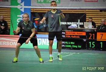 3 medale naszych badmintonistów na Yonex Polish Open 2017
