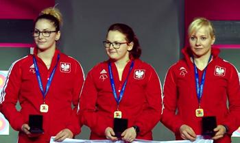 2 złote medale zdobyli zawodnicy znaszych klubów na HME włucznictwie