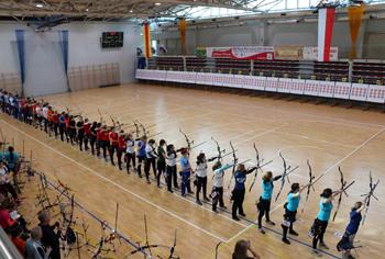 26 medali zdobyli łucznicy z naszych klubów na HMP juniorów imłodzieżowców