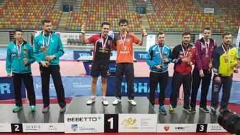4 medale zdobyli nasi zawodnicy na Indywidualnych Mistrzostwach Polski Seniorów i Seniorek w Tenisie Stołowym