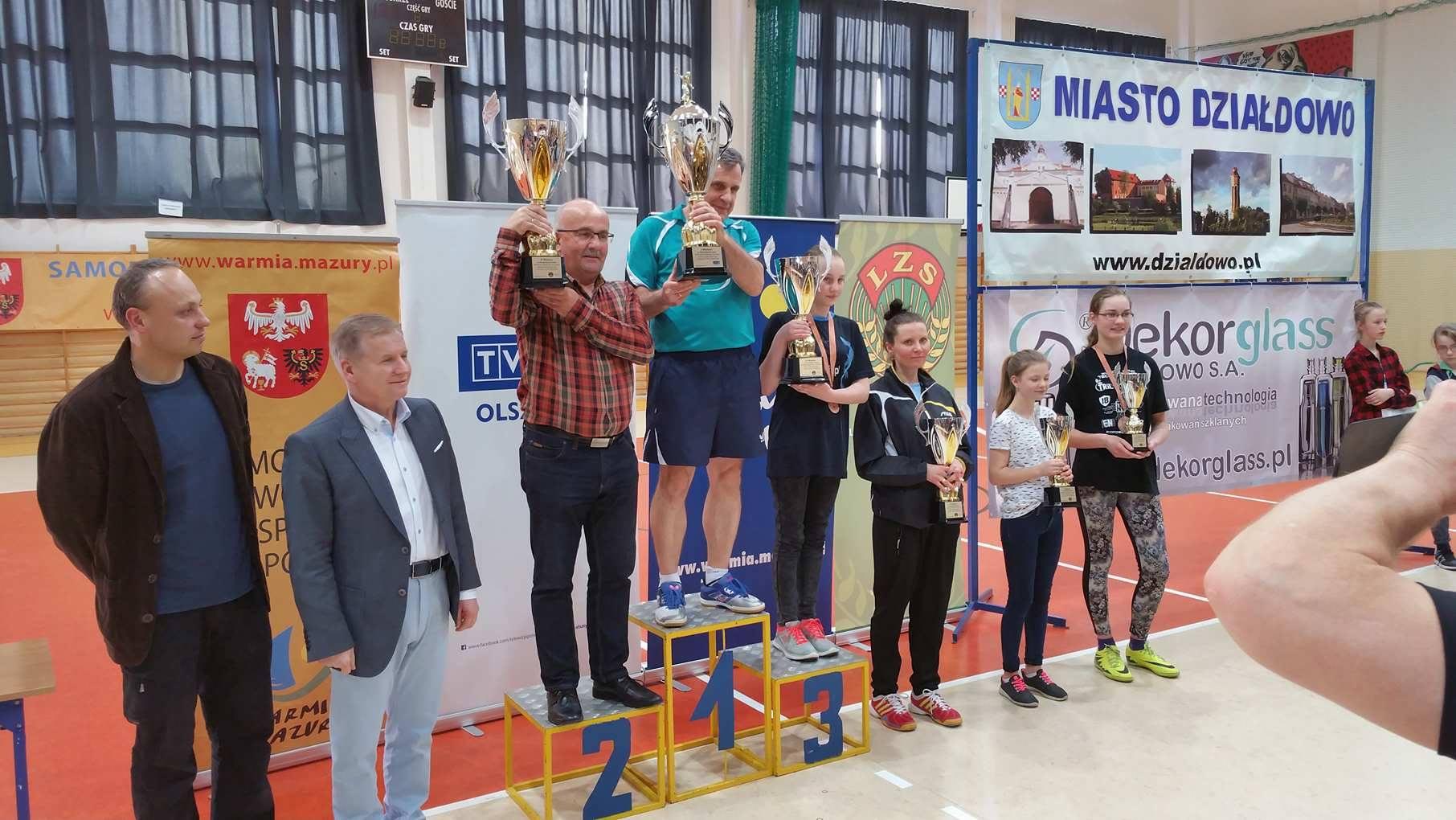 58. Turniej Warmińsko-Mazurskiego Zrzeszenia LZS oPuchar TVP3 Olsztyn — tenis stołowy