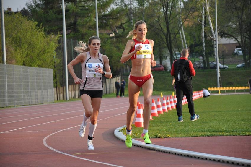 Katarzyna Rutkowska mistrzynią kraju wbiegu na10000 m