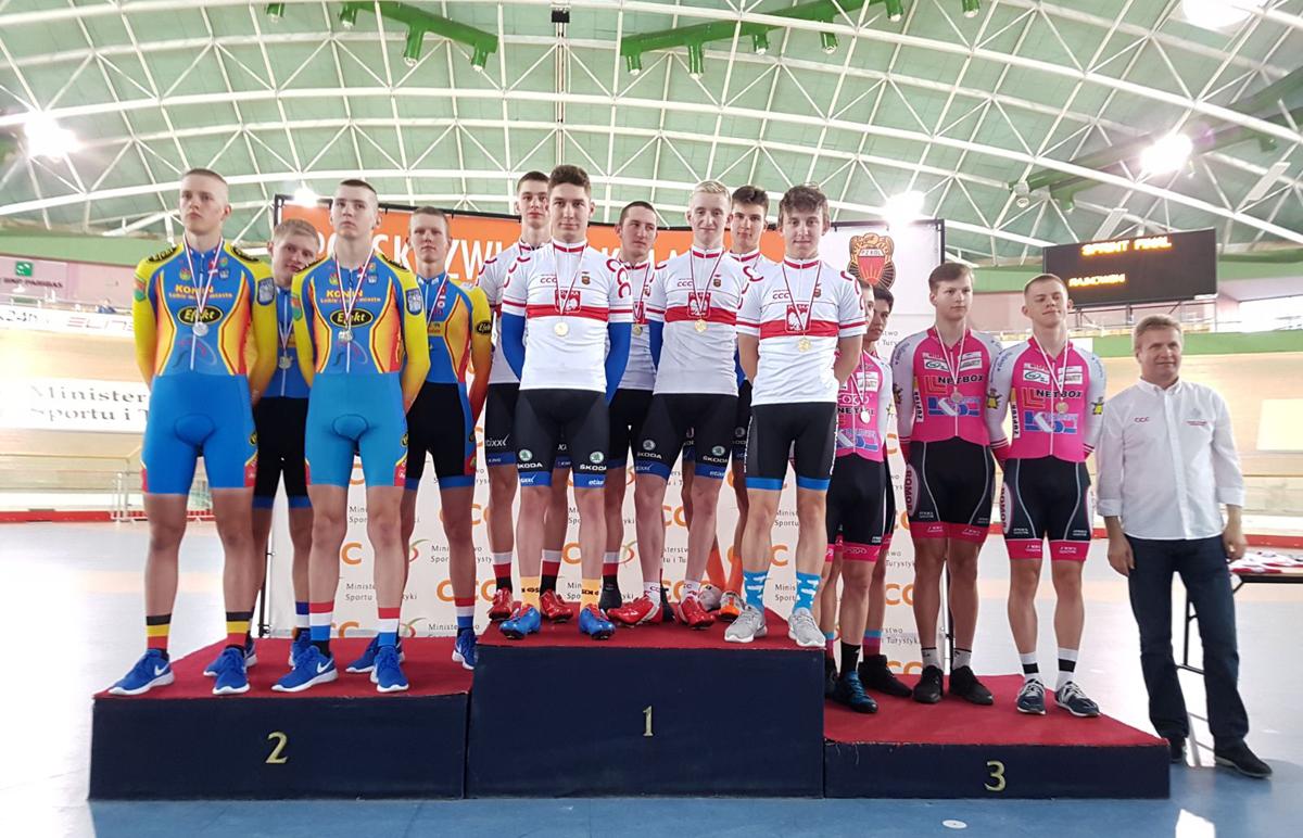 58 medali na 60 możliwych zdobyli zawodnicy zklubów Zrzeszenia LZS na Młodzieżowych Mistrzostwach Polski wKolarstwie Torowym