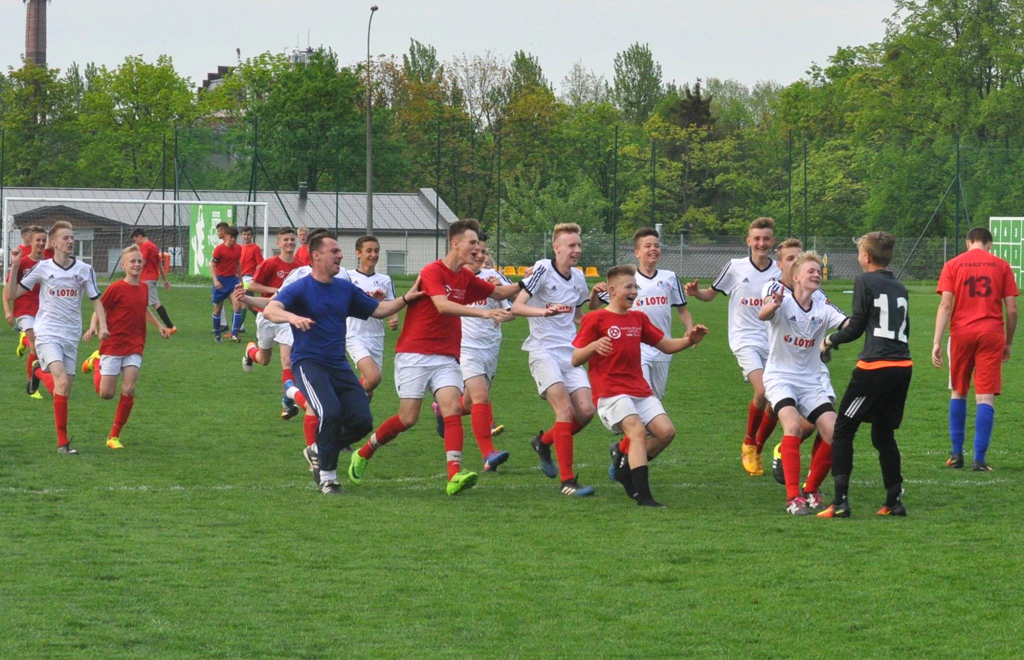 KTS-K GOSRiT/el professional  Luzino wygrał pomorski finał XXXIII Turnieju Piłkarska Kadra Czeka LZS