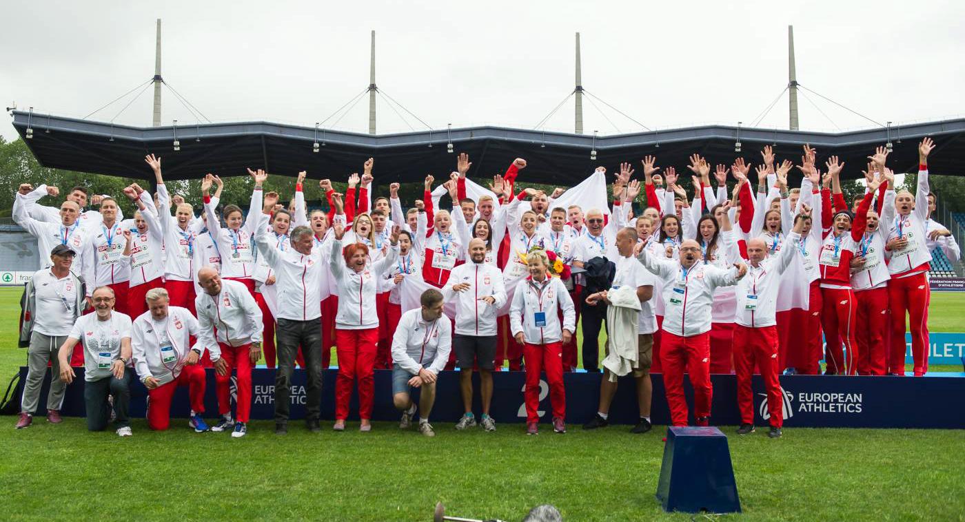 Polska druga na Drużynowych Mistrzostwach Europy wlekkoatletyce — dobre starty zawodników znaszych klubów