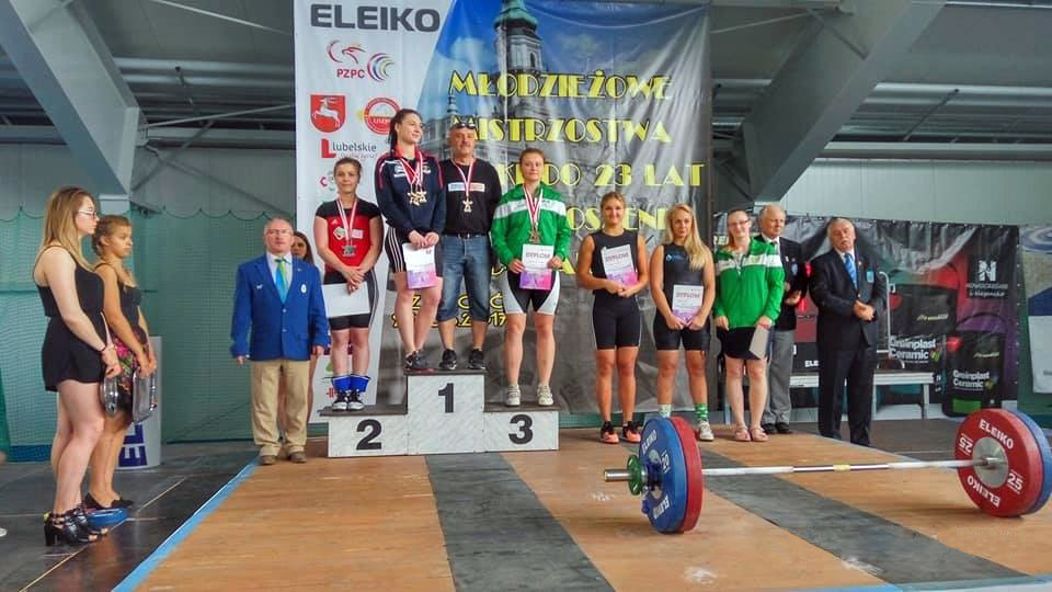 26 medali zdobyli zawodnicy zklubów Zrzeszenia LZS na Młodzieżowych Mistrzostwach Polski wpodnoszeniu ciężarów kobiet imężczyzn