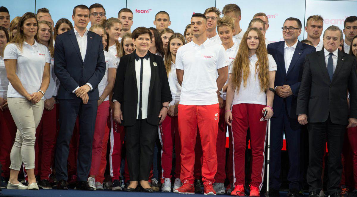 Ruszył program Ministerstwa Sportu iTurystyki team100 — znalazło się wnim 21 sportowców zklubów Zrzeszenia LZS