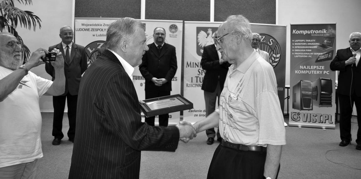 Zmarł Tadeusz Nycz, wieloletni prezes sekcji szachowej MLKS Nadnarwianka Pułtusk