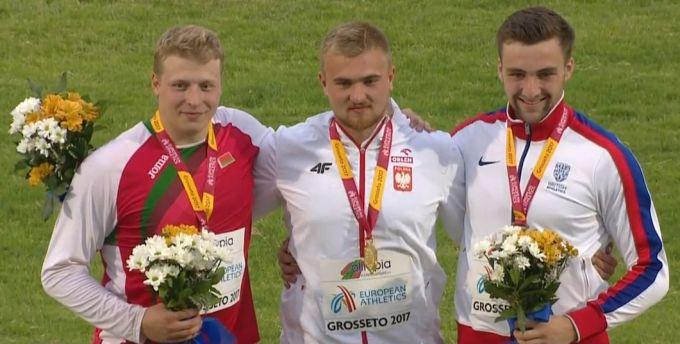 Oskar Stachnik złotym medalistą Mistrzostw Europy U-20 wlekkiej atletyce
