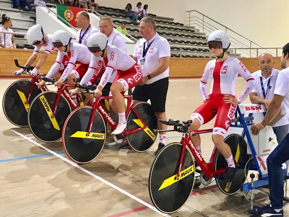 10 medali wywalczyli zawodnicy zklubów Zrzeszenia na Młodzieżowych Mistrzostwa Europy wkolarstwie torowym
