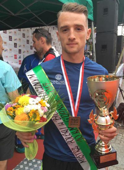 Marcin Chabowski mistrzem Polski wbiegu ulicznym na 10km, Artur Kozłowski wicemistrzem
