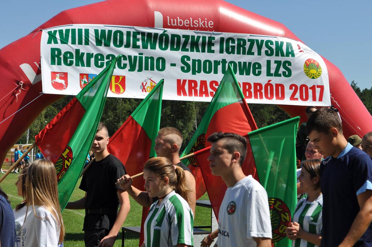 XVIII Wojewódzkie Igrzyska Rekreacyjno — Sportowe LZS — Krasnobród 2017