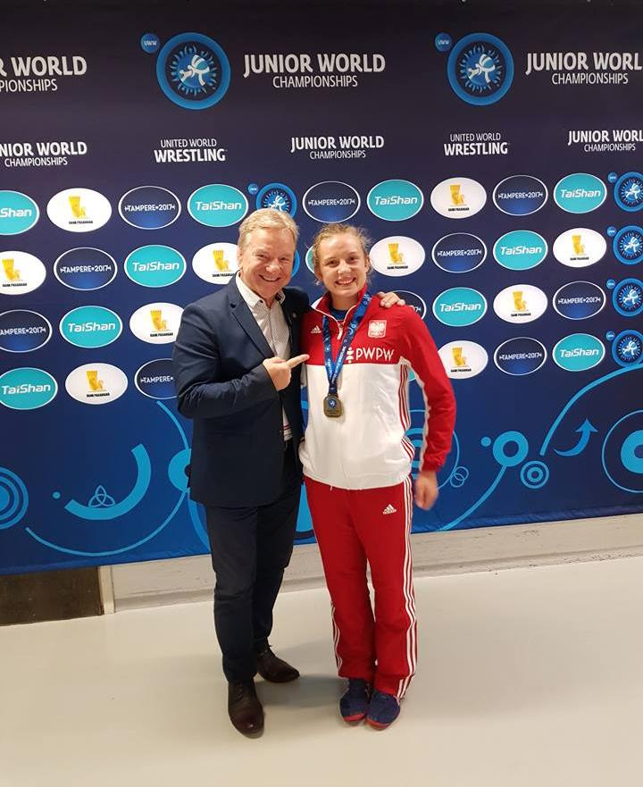 Aleksandra Wólczyńska brązową medalistką MŚ Juniorów