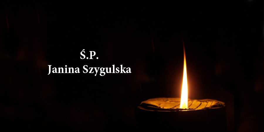 Zmarła Janina Szygulska