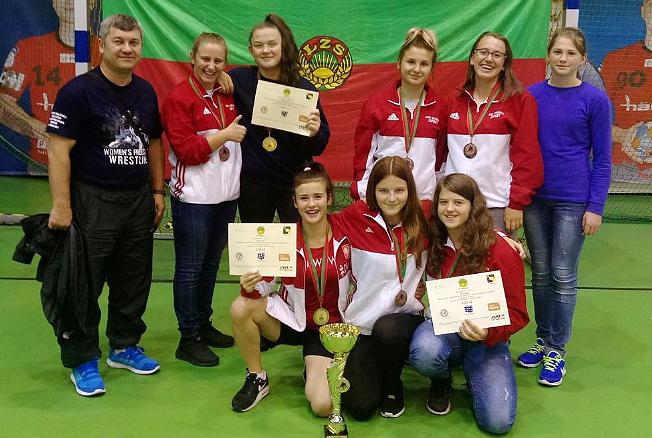 Mistrzostwa Krajowego Zrzeszenia LZS wZapasach Kobiet — Piotrków Trybunalski 2017