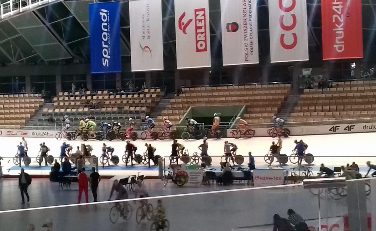 Mistrzostwa Krajowego Zrzeszenia LZS w Kolarstwie Torowym iMistrzostwa Polski wkonkurencjach nieolimpijskich – Pruszków 2017