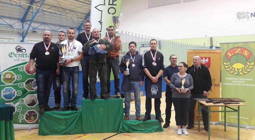 VIII Drużynowe Mistrzostwa Województwa Zrzeszenia LZS wstrzelaniu zbroni pneumatycznej — woj. warmińsko-mazurskie