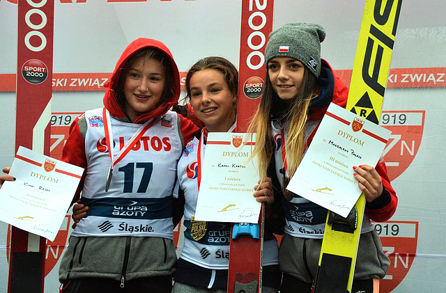 Kinga Rajda wicemistrzynią Polski wskokach narciarskich