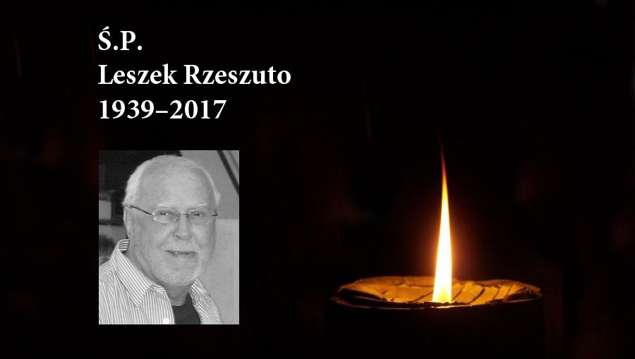 Zmarł Leszek Rzeszuto