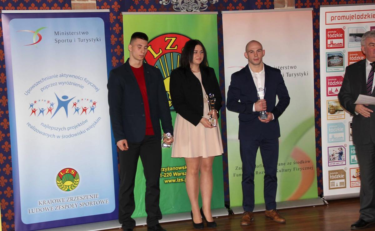 Klaudia Kardasz — najpopularniejszym sportowcem, ZbigniewKlęk — najpopularniejszym trenerem KZLZS w2017roku
