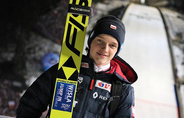 Tomasz Pilch czwarty na MŚ Juniorów wskokach narciarskich