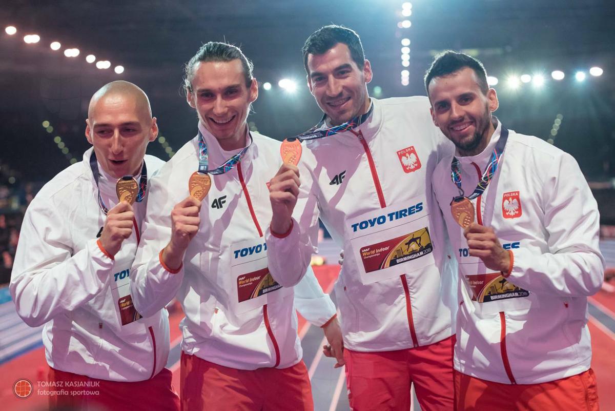 Bohater sztafety 4×400m Jakub Krzewina zaczynał karierę sportową wnaszym klubie LIUKS Kruszwica