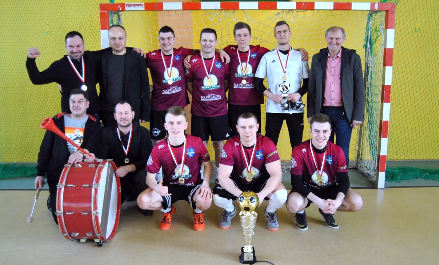 Finał Halowego Turnieju Piłki Nożnej Mistrzostw Województwa W-MZLZS