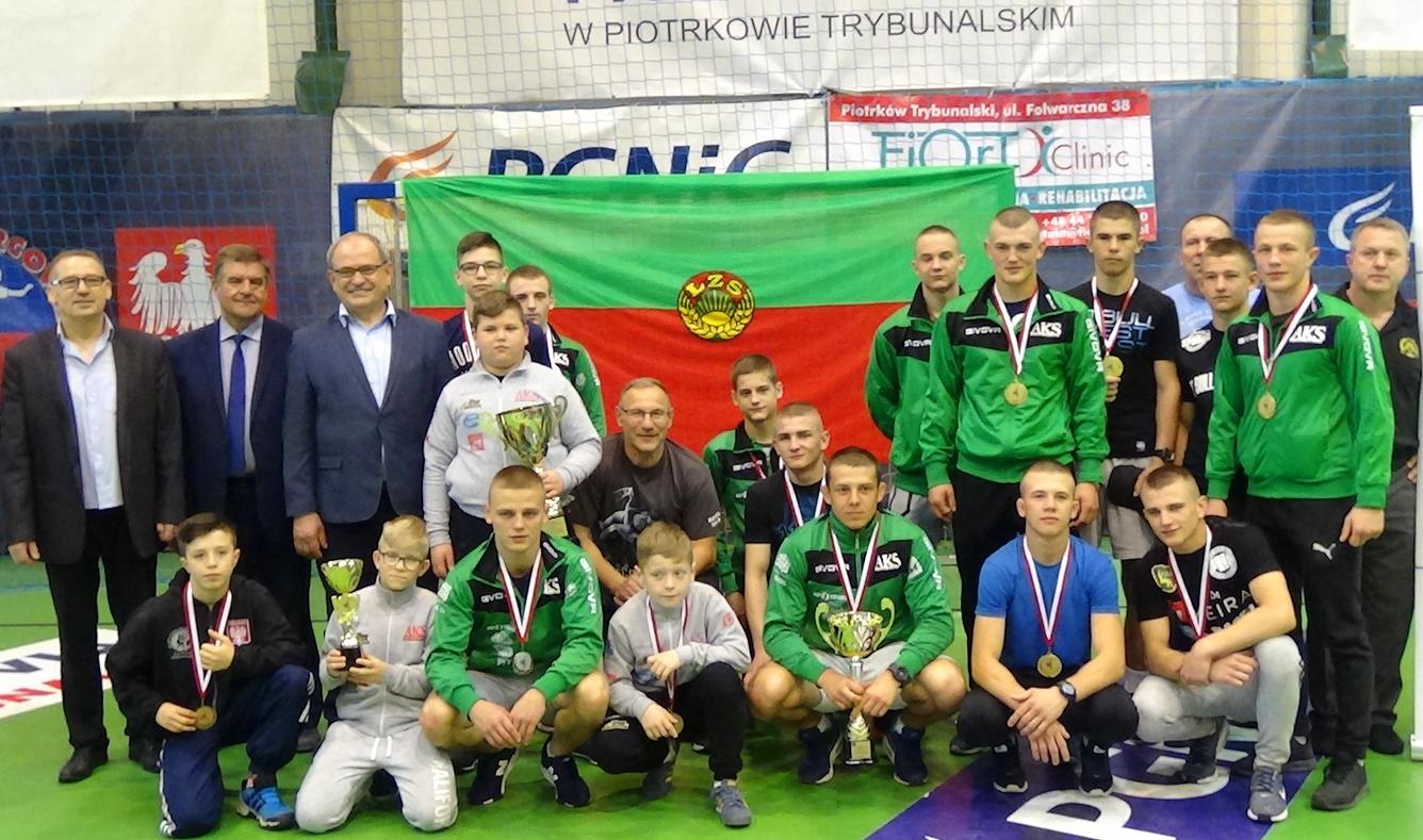 Mistrzostwa Krajowego Zrzeszenia LZS wzapasach wstylu klasycznym — Piotrków Trybunalski2018