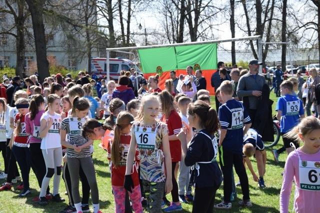 Wiosenne Zawody Zrzeszenia LZS wbiegach przełajowych