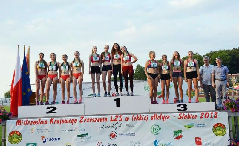 Mistrzostwa Krajowego Zrzeszenia LZS wlekkiej atletyce U-18, U-20 iU-23 — Słubice 2018
