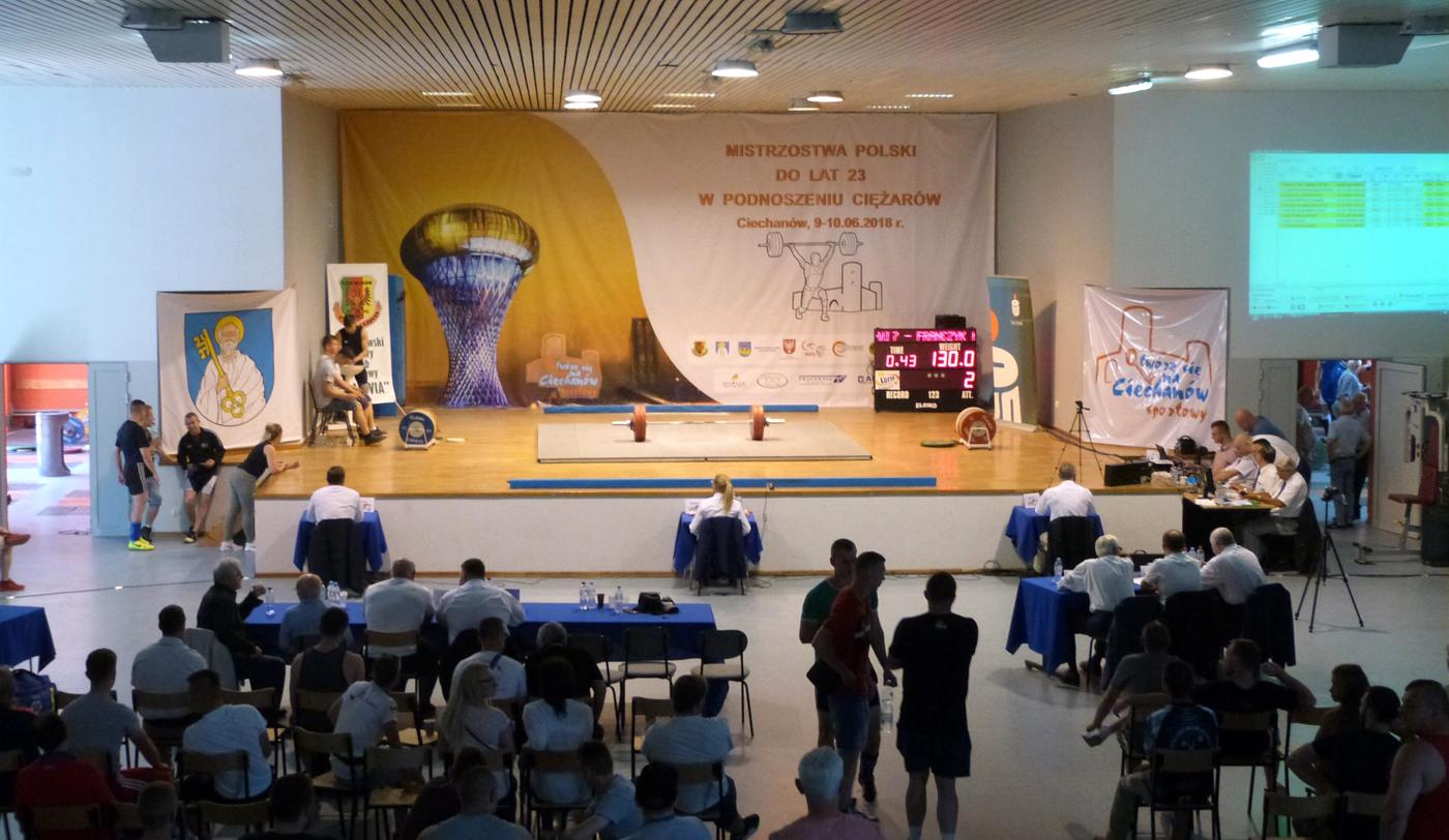 26 medali zdobyli zawodnicy znaszych klubów wMMP wpodnoszeniu ciężarów do lat 23 K+M