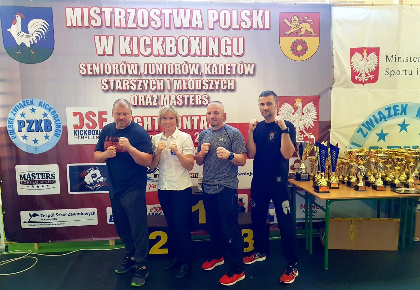38 medali zdobyli nasi zawodnicy wMistrzostwach Polski wKickboxingu wformule Light Contact