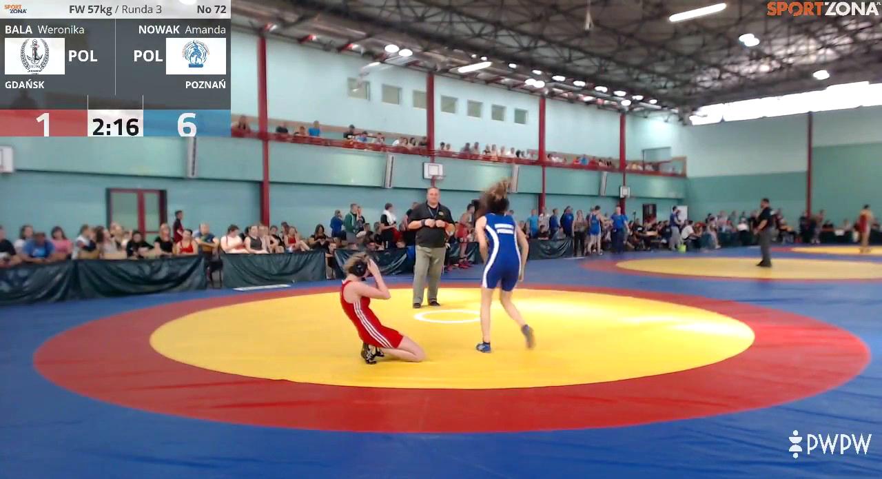 Mistrzostwa Polski Juniorek iJuniorów wzapasach wstylu wolnym — łącznie zdobyliśmy 56medali