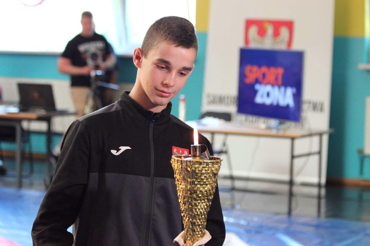 Olivier Skrzypczak mistrzem Europy młodzików wzapasach wstylu klasycznym
