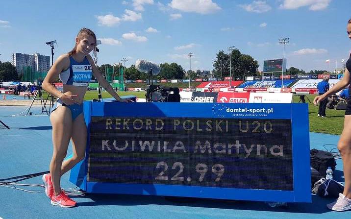 25 medali zdobyli zawodnicy znaszych klubów na Mistrzostwach Polski wLekkiej Atletyce seniorów