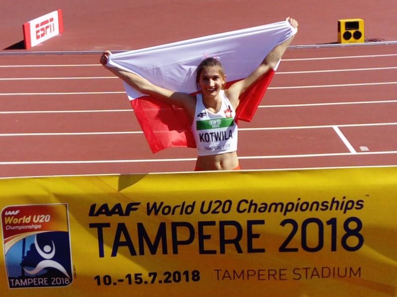 Martyna Kotwiła brązową medalistką lekkoatletycznych mistrzostw świata juniorek