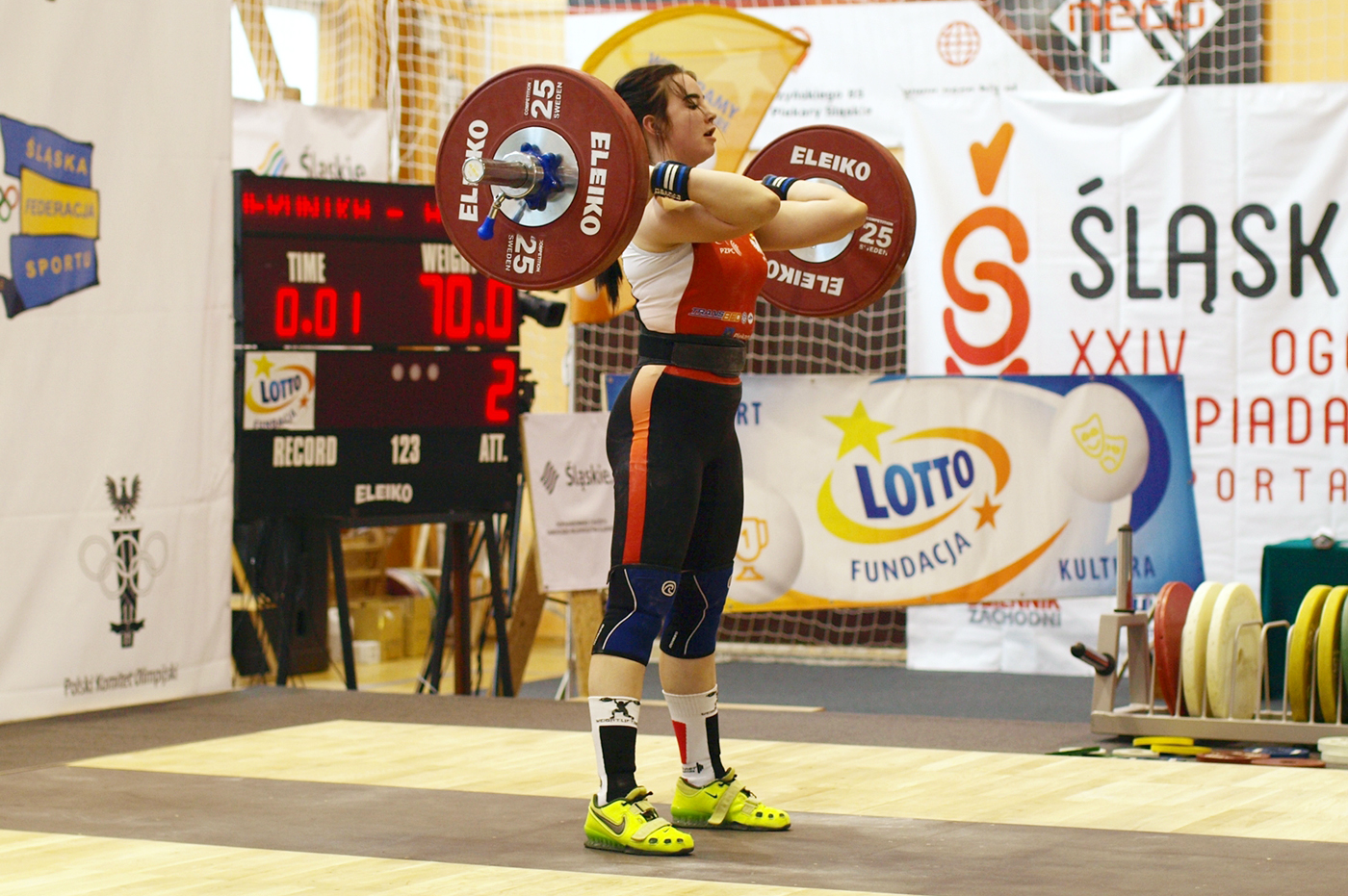 38 medali zdobyli zawodnicy klubów Zrzeszenia na OMM wpodnoszeniu ciężarów