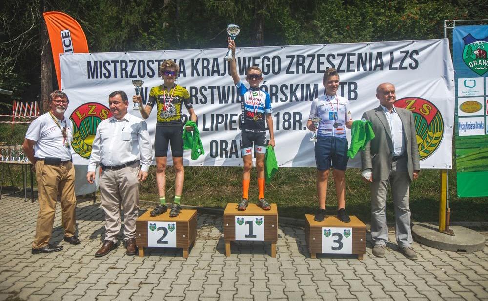 Mistrzostwa Krajowego Zrzeszenia LZS wkolarstwie MTB –Orawka2018
