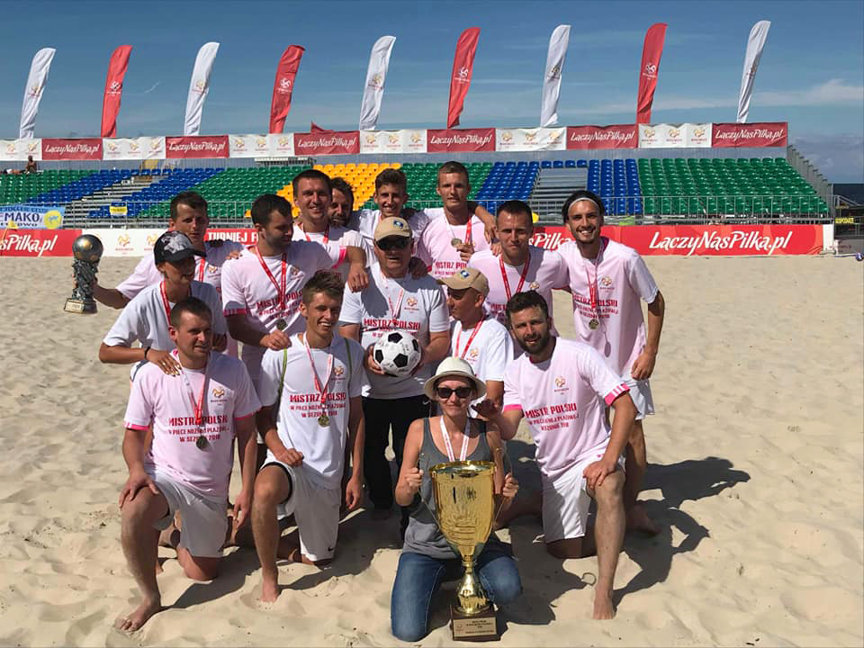 Hemako Sztutowo wywalczył Mistrzostwo Polski wBeach Soccer