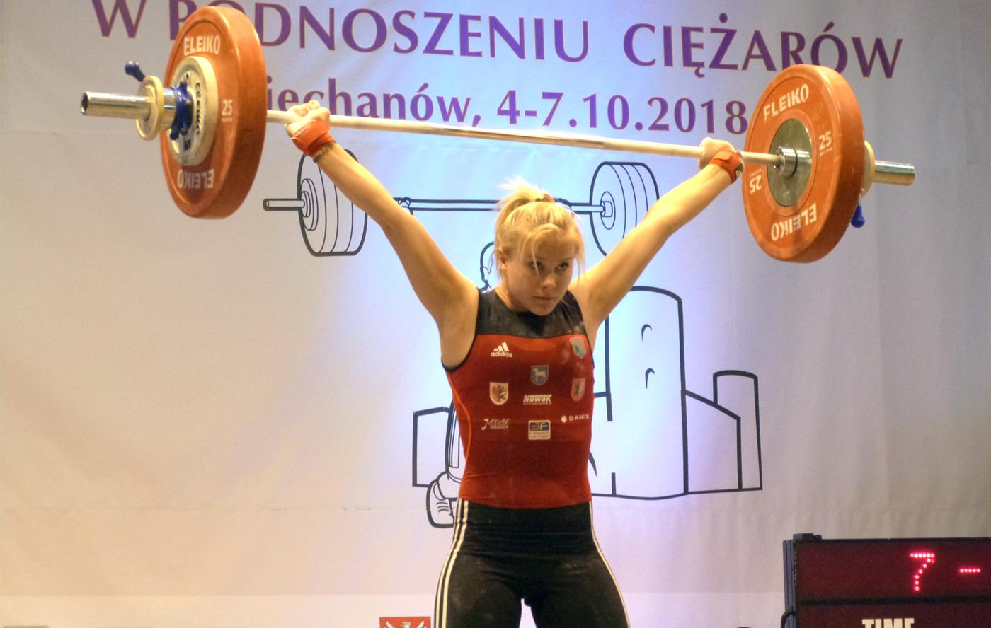 37 medali zdobyli nasi młodzicy na Mistrzostwach Polski wpodnoszeniu ciężarów