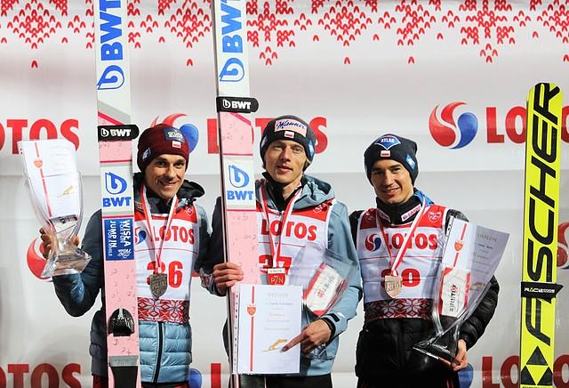 Piotr Żyła wicemistrzem Polski wskokach narciarskich na igielicie