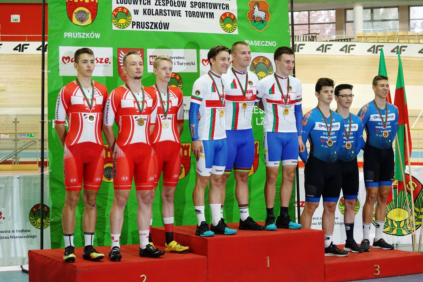 Mistrzostwa Krajowego Zrzeszenia LZS wkolarstwie torowym orazMistrzostwa Polski wkonkurencjach nieolimpijskich — Pruszków 2018