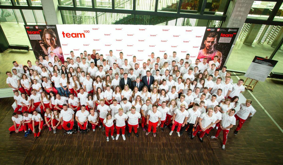Team100 liczy już 250 zawodników, wtym 51 zklubów Zrzeszenia LZS