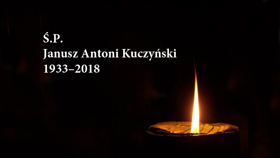 Zmarł Janusz Antoni Kuczyński — założyciel itrener KSPodlasie Białystok