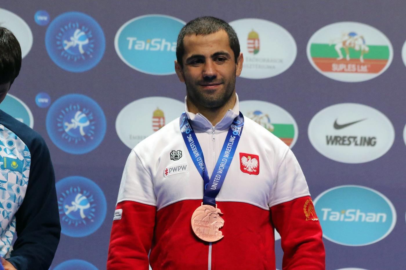 Gevorg Sahakyan brązowym medalistą Mistrzostw Świata wzapasach, Katarzyna Krawczyk na 5miejscu