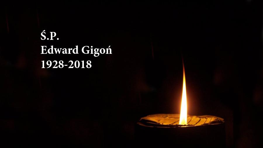 Zmarł zasłużony działacz LZS Edward Gigoń