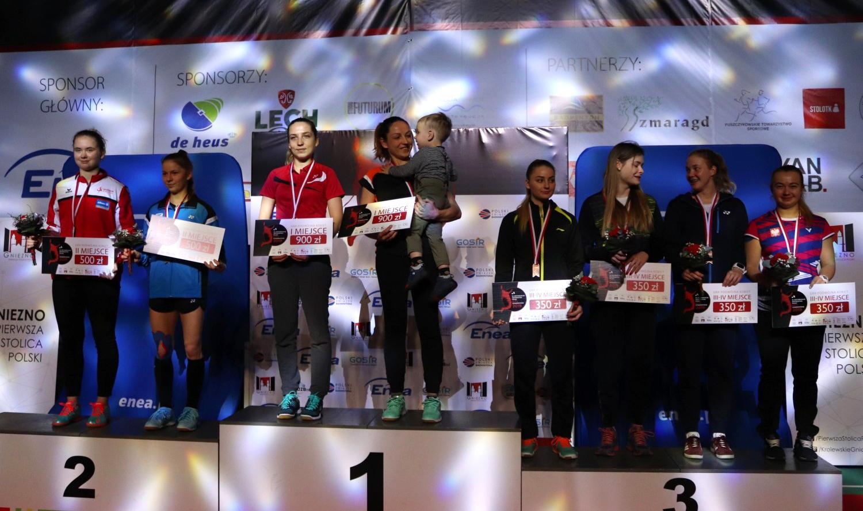 11 medali zdobyli zawodnicy znaszych klubów na 55.Mistrzostwach Polski Elity wBadmintonie