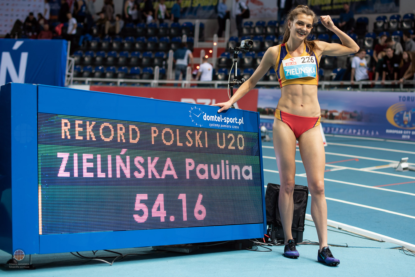 55 medali zdobyli zawodnicy znaszych klubów na HMP wlekkiej atletyce U18 iU20