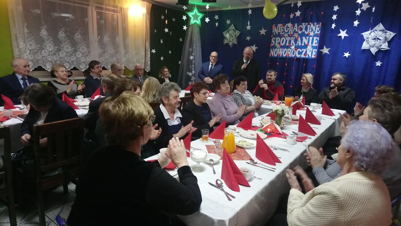 """Spotkanie Noworoczne wLKS """"Ciężkowianka"""" Jaworzno"""